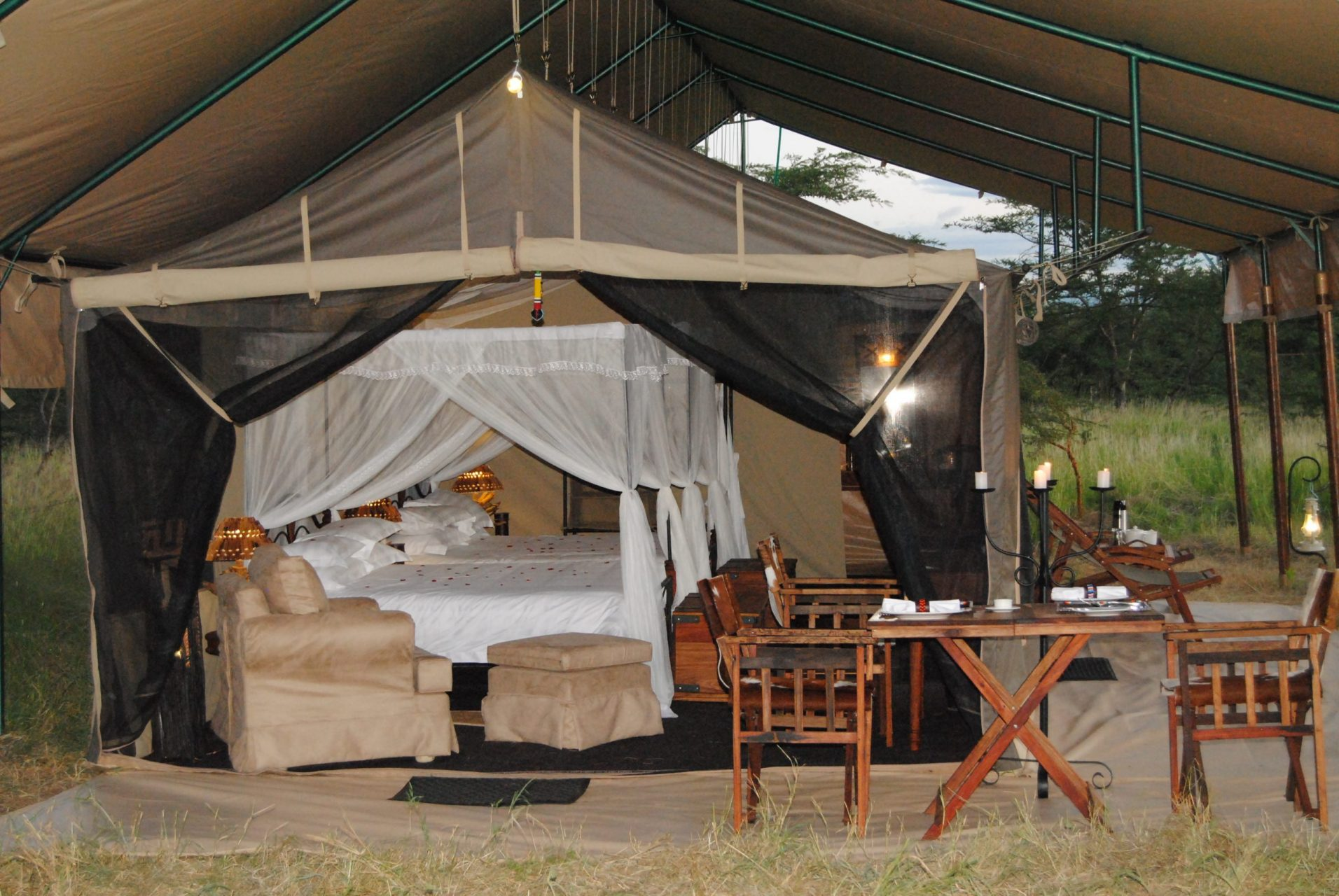 11 DAY TENTED CAMPS SAFARI AND ZANZIBAR BEACH